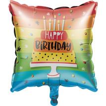 "Hoppin' Birthday Cake 18"" Metallic Balloon, Case of 10 - $36.27"