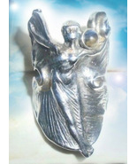 HAUNTED RING THE HIGH PRIESTESS PATH ALEXANDRIAS TREASURES COLLECTION MA... - $497.77