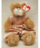 Ty Attic Treasures Pouncer Cat Kitten Beanbag Plush Jointed Swing Tush T... - $12.86