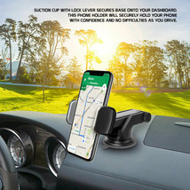 Extendable Telescopic Arm Dash / Windshield 360° Rotation Phone Holder C... - $16.95