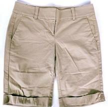 Ann Taylor Women's Casual Boardwalk Shorts Tan Size 0 - $29.70