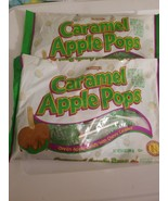 2 Bags TOOTSIE Roll Chewy Caramel Apple Pops Taffy Candy 9.4oz - $9.85