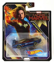 Hot Wheels Marvel Captain Marvel First Appearance Character Cars Mint on... - $12.88
