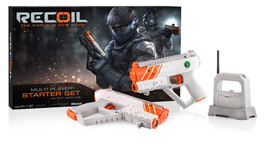 Recoil Interactive Laser Combat Two Player Starter Set GPS-enabled Battl... - $58.86