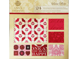 Anna Griffin Valentina Collection 12x12 Cardstock Paper Pad #SB106