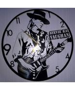 VINYL PLANET Wall Clock  STEVIE RAY VAUGHAN Home Record Unique Decor upc... - $33.50