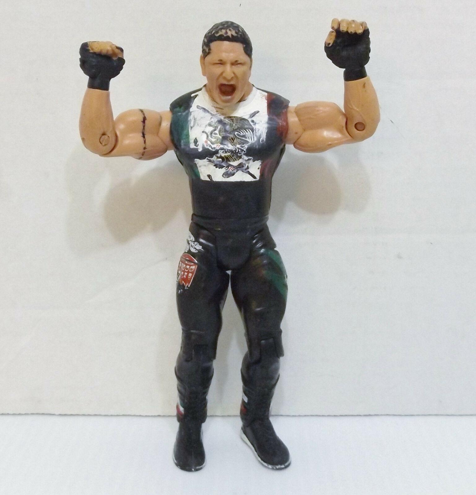 "2003 Jakk's Ruthless Aggression #28 ""Super Crazy"" Action Figure WWE WWF {2715}"