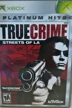 True Crime: Streets of LA (Microsoft Xbox, 2004) Platinum Hits Complete & Tested - $8.89
