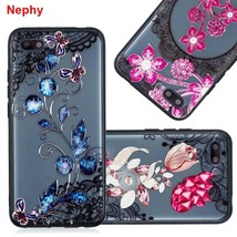 Lace Flower Phone Case For Huawei P20 Lite Pro P Smart Honor 9 Mate 10 Lite Pro  - $13.95