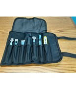Mercer Cutlery Mixology roll 7pc tool set thermometer included  - $39.59