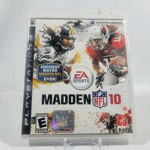 Madden NFL 10 Playstation 3 Video Game Complete CIB - $2.99