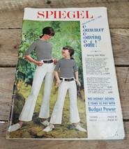 Spiegel Summer Saving Sale 1966 Late Summer Catalogue - $24.70