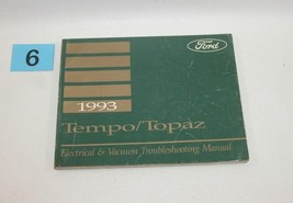 1993 Tempo Topaz Electrical and Vacuum Trouble Shooting Service Manual USED 6 - $14.80