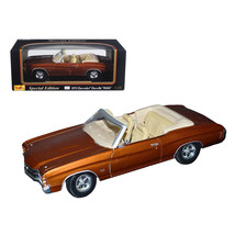 1971 Chevrolet Chevelle SS 454 Convertible Brown 1/18 Diecast by Maisto ... - $45.29