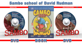 SAMBO 1000 SUBMISSIONS – ATTACK Book 2.+ 2 DVD (Disk only). - $45.82