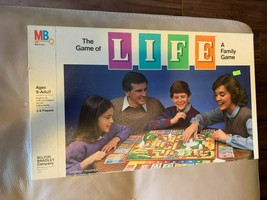 THE GAME OF LIFE BOARD GAME MILTON BRADLEY 1985 -1991- COMPLETE - $19.79