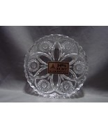 Matching Pair Anna Hutte Bleikristall  Lead Crystal Trinket Candy Dish W... - $11.99
