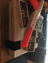 Nintendo Entertainment System Nes-001 2 Controllers Zapper Gun Vintage C... - $46.74