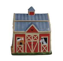Clover Farm 3-D Barn Cookie Jar (mc) - $168.29