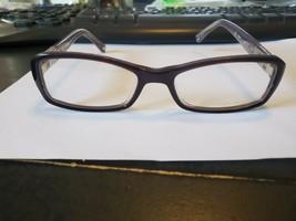 New Michael Kors MK834 501 Eyeglasses Frame 52/17/135 Purple Crystal Perfect - $58.41