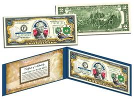 PUERTO RICO $2 Statehood PR Territories Two-Dollar US Bill Legal Tender ... - $13.81