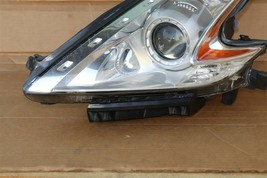 09-17 Nissan 370Z Z34 Xenon HID Headlight Lamp Driver Left LH - POLISHED image 2