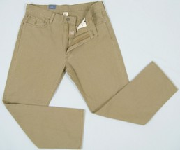 NEW! Polo Ralph Lauren Classic 867 Style Jeans!  Light Brown with Hint of Green - $49.99