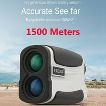 Rangefinder HD View USB Rechargeable Laser Range Telescope Speed Measure... - $127.22+