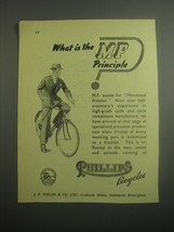 1948 Phillips Bicycles Ad - What is the MF principle - $14.99