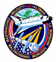 STS-106 Nasa Atlantis Sticker M526 Space Program - $1.45+