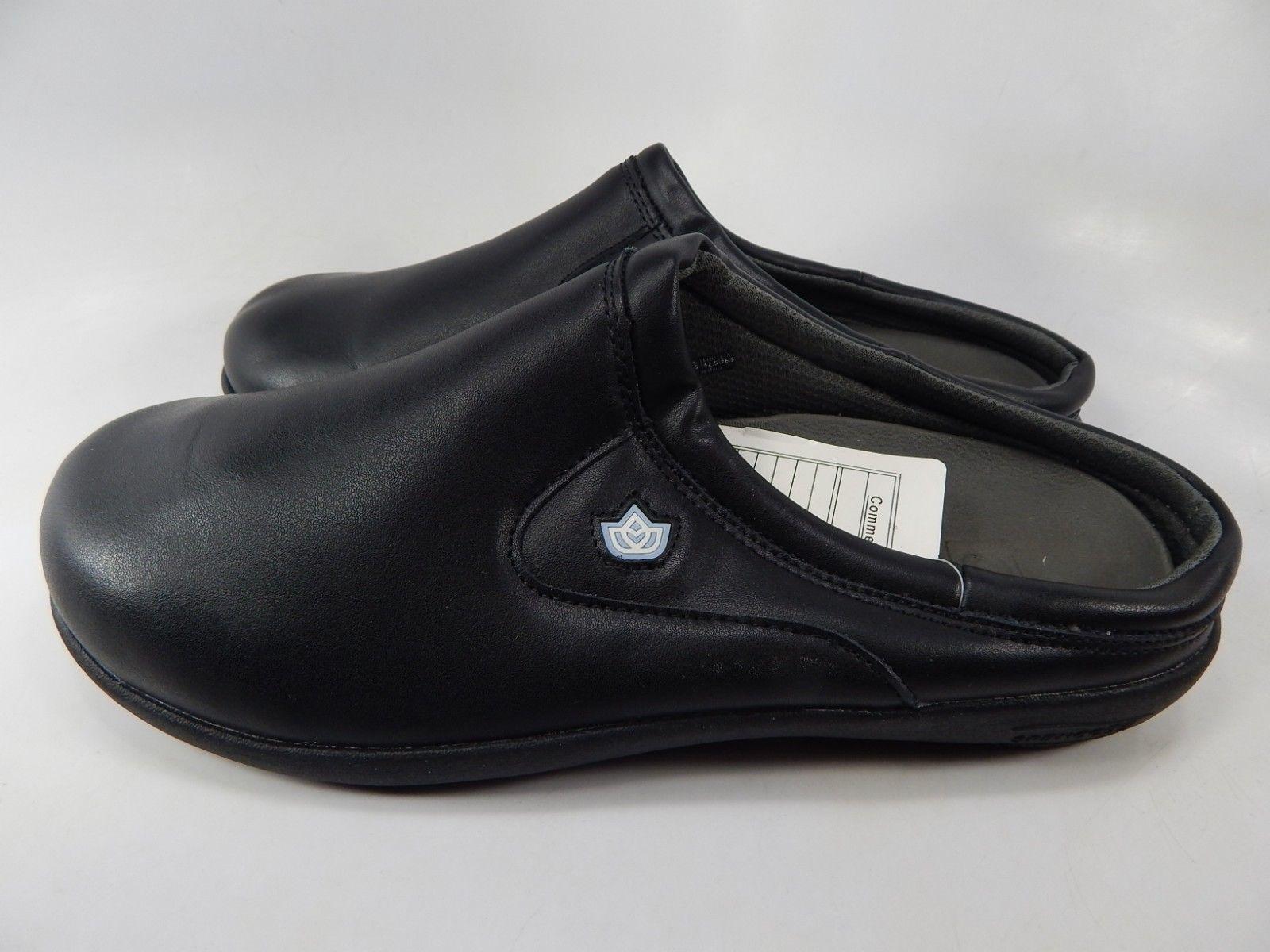 Spenco Pierce MD SL Sz US 9 M (D) EU 42.5 Men's Professional Slides Shoes Black