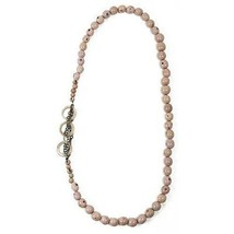 Circle Chain Necklace in Sugar Pink - Faire Collection - $39.95