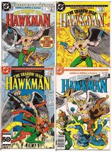 DC The Shadow War Of Hawkman Lot Issues #1-4 Mini-Series Complete - $9.95