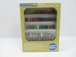 New Artist's Loft Fundamentals Oil Pastels 48 Colors Sealed Fundamentals - $11.83