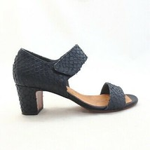 37 / 6.5 US - Chie Mihara Anthropologie Textured Leather Strappy Heels 0... - $70.00