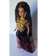 Franklin Lim Liao Sari Teresa Barbie OOAK Artist doll India Outfit One of a Kind - $74.97
