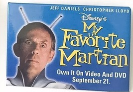 Disney's My Favorite Martian Promotional Pin Button Movie Christopher Lloyd - $4.74