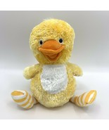 Hallmark Totally Ticklish Yellow Animated Duck Plush Wings Flap Hippity ... - $19.75
