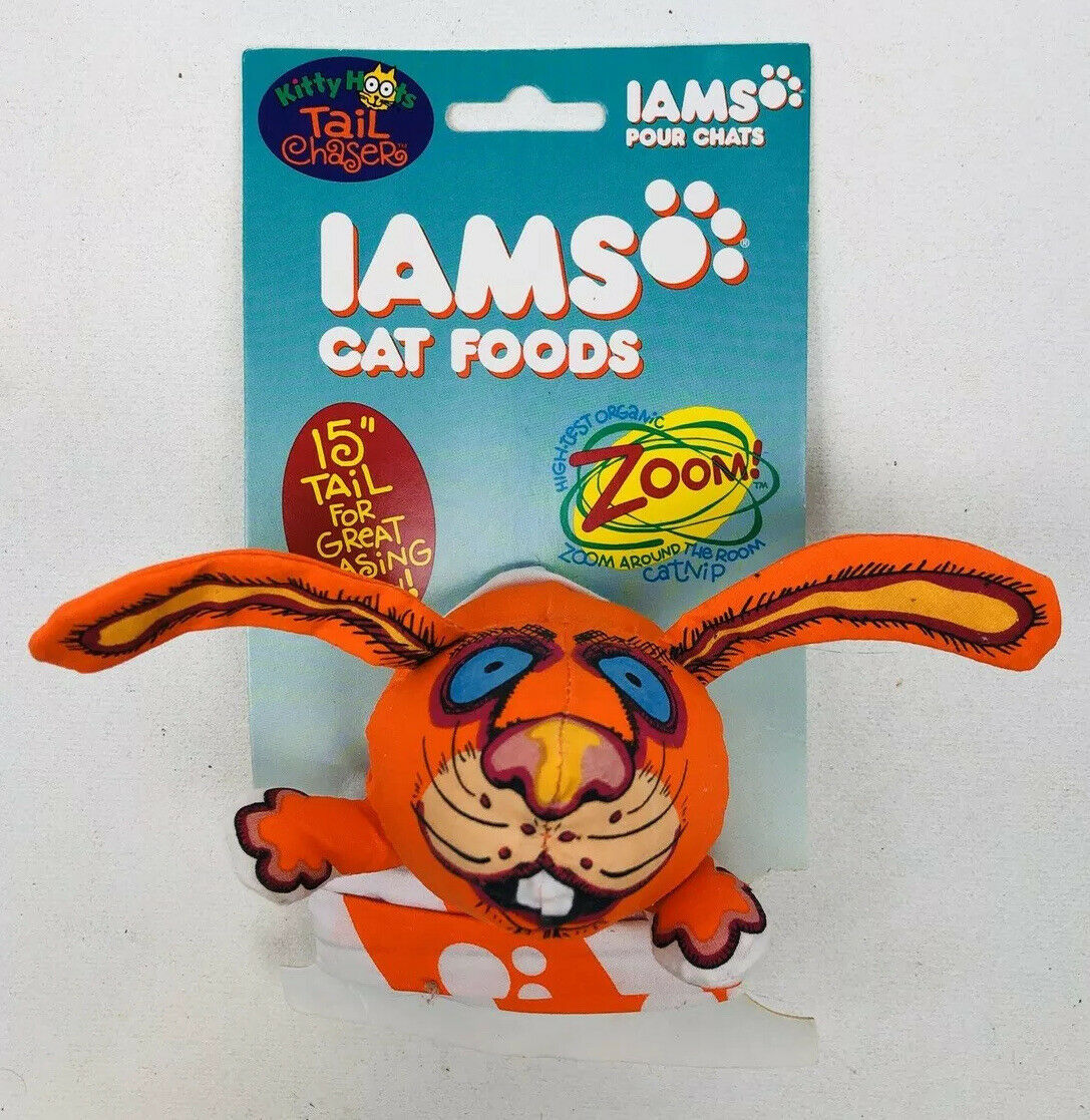 Primary image for IAMS Cat Food Kitty Hoots Tail Chasers Zoom! Cat Toy