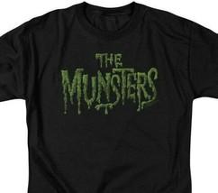The Munsters logo t-shirt retro 60s comedy TV series graphic tee NBC767 image 2