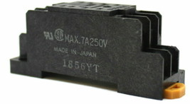 Omron PYF08A Relay Base 250V 7A 8 Point - $4.93