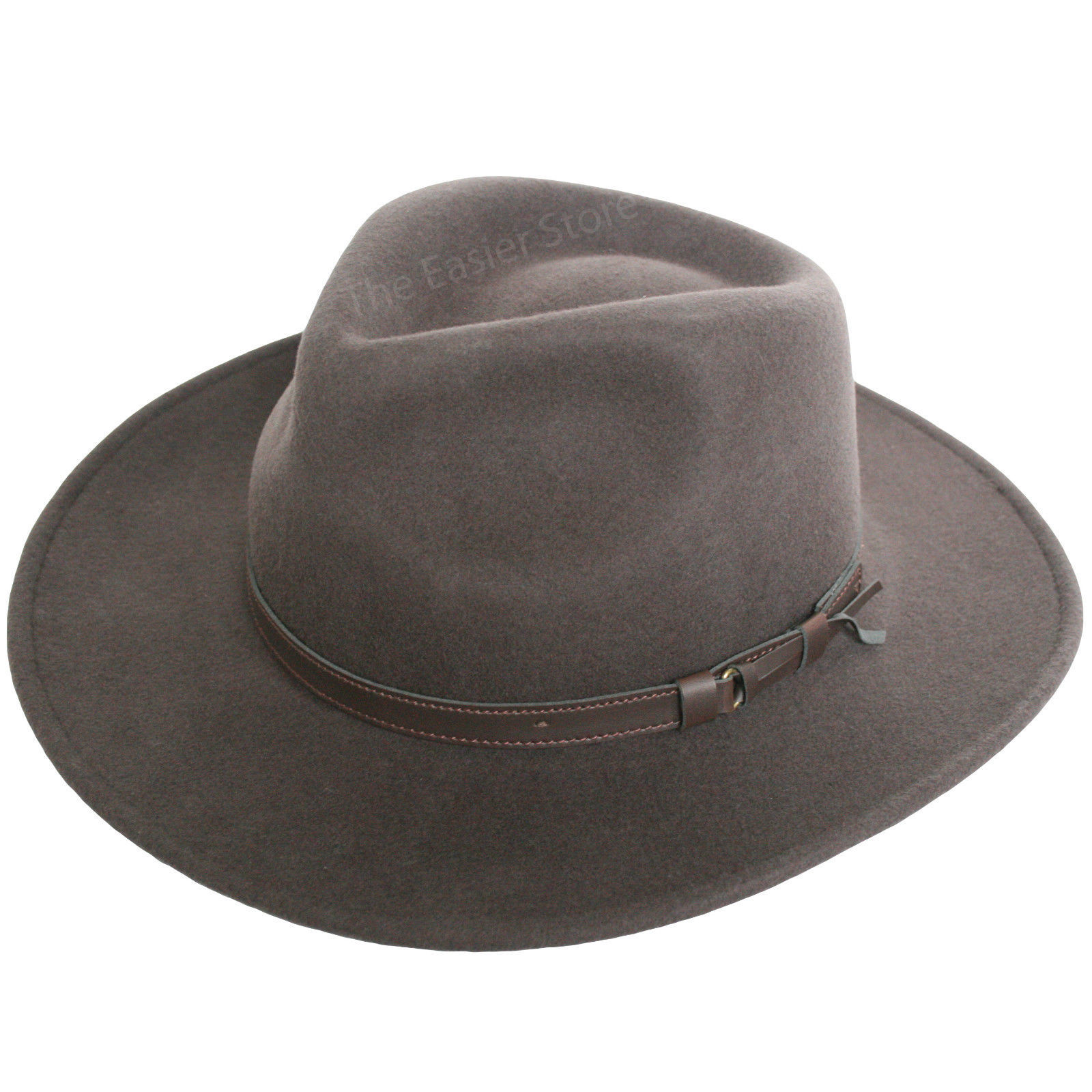 The Classic Trilby The Trilby derives its name from a play based on George du Maurier's novel Trilby, after such a style of hat was worn in the first London stage adaptation.