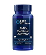 NEW Life Extension Ampk Metaboloic Activator Fights Belly Fats Tablets 3... - $43.52
