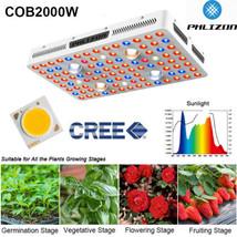 2000W 4XCREE COB Led Grow Light Lamp Full Spectrum UV IR For Medicals Herbs Veg - $199.99