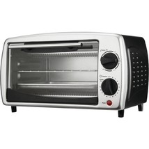 Brentwood Appliances TS-345B 4-Slice Toaster Oven and Broiler (Black) - $50.28