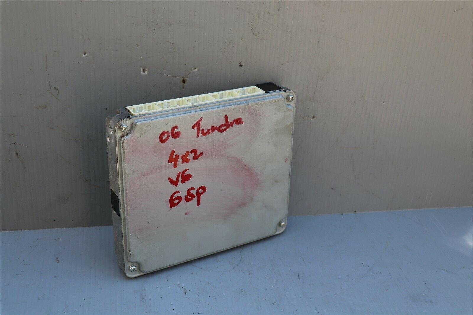 06 Tundra 4.0L 4x2 6sp Manual MTX ECM ECU Engine Control Module 89661-0C710