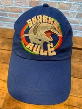 SHARKS RULE Hilton head Island Adjustable Youth Kids Cap Hat - $5.93