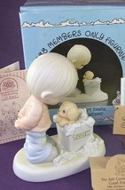 Precious Moments JUST CANNOT CHUCK GOOD FRIENDSHIP Figurine 1988 PM882 F... - $10.93