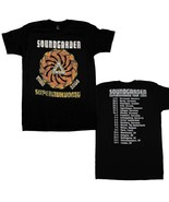 Soundgarden Superunknown Tour 94 Black T-Shirt Men's Licensed Band Tee S... - $21.00