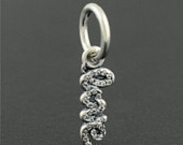 Pandora Sterling Silver Signature of Love Charm - $20.00